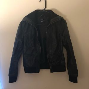 FOREVER21 Black Leather Jacket
